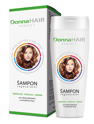 DonnaHAIR PERFECT regenerační šampon 200 ml