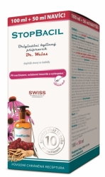 STOPBACIL Dr. Weiss 100+50ml  NAVÍC