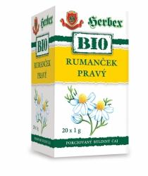 HERBEX BIO Tea Heřmánek pravý n.s.20x1g