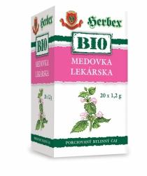 HERBEX BIO Tea Meduňka lékařská n.s.20x1.5g