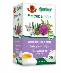 HERBEX Ostropestřec a máta 20x4g n.s.