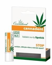 Cannaderm Cannadent balzám na rty lipstick 4.5 g