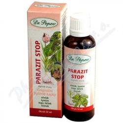 Dr.Popov Kapky bylinné Parazit stop 50ml