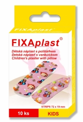 Náplast Fixaplast KIDS strip 10ks