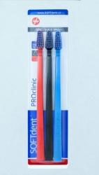 Zub.kart.SOFTdent PROclinic extra měkký S1131 3ks