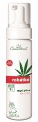 Cannaderm Robátko mycí pěna Sensitive 200ml