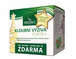 Priessnitz Kloubní výživa Forte Glukos.+Kolagen 180+90 vánoční