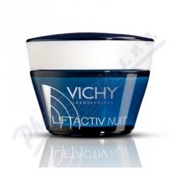 Vichy Liftactiv Supreme noční zpevňující a protivráskový krém s liftingový m efektem (Long Lasting Lifting Feel) 50 ml