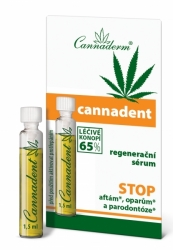 Cannaderm Cannadent sérum 1,5 ml
