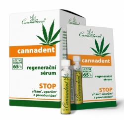 Cannaderm Cannadent sérum 10x 1.5ml