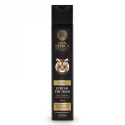 MEN Energizující šampon na vlasy a tělo 2 v 1 - Nezkrotnost tygra, 250 ml