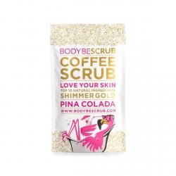 Kávový peeling s jemným třpytivým efektem Piña Colada (100g)