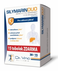 SILYMARIN DUO Da Vinci Academia tob.30+15 ZDARMA