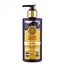 Vyživující krém-šampon Jačí mléko 300ml