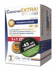Coenzym EXTRA! Strong 60mg DaVinci tob.30+45ZDARMA BONUS