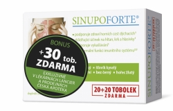 SINUPO Forte 20+30 tobolek BONUS