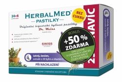 HerbalMed past. Dr.Weiss BEZ CUKRU Šalv+žen+C 24+12 BONUS