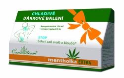 Cannaderm Mentholka EXTRA dárek 150ml+nápl.3ks