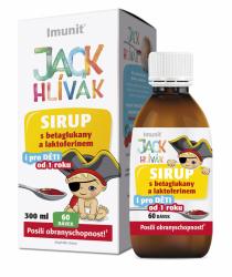 Hlíva JACK HLÍVÁK sirup 300ml glukany a laktoferin