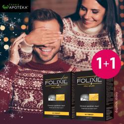 Folixil Plus pro muže 60+60 tbl. BONUS