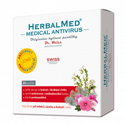 HerbalMed Medical Antivirus Dr.Weiss 20 pastilek