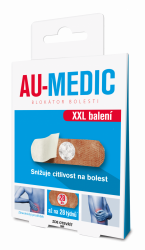 AU-MEDIC blokátor bolesti 28 ks