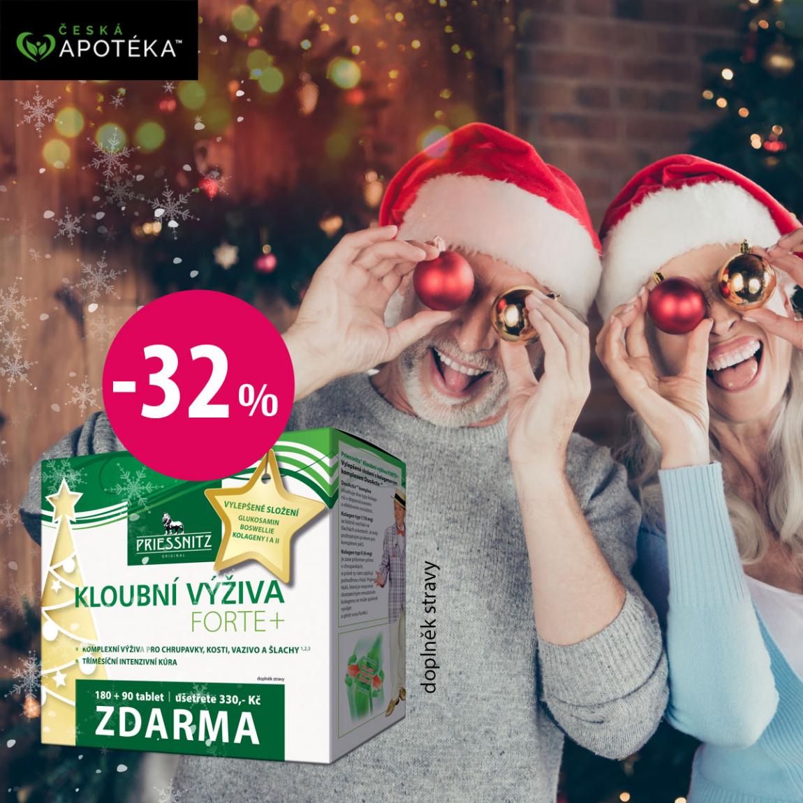 Priessnitz Kloubní výživa ve vánočním balení