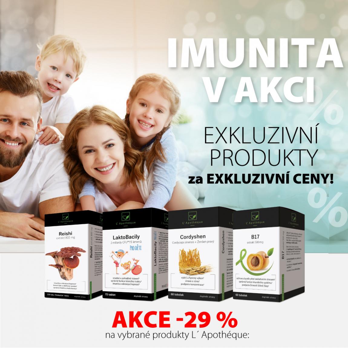 Exklizivní produkty za exkluzivní cenu